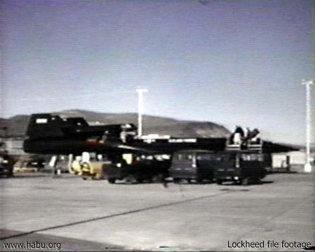 Lockheed file footage of 941 being preflighted
